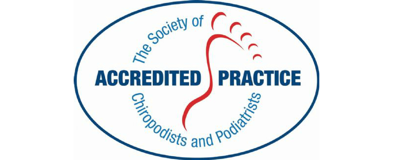 the society of chiropodists and podiatrists accredited practice