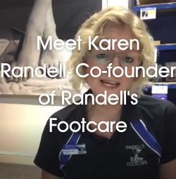 Meet Karen Randell, Co-founder of Randell's Footcare
